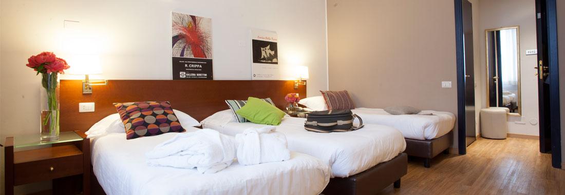 Camera Hotel Oro Blu Milano