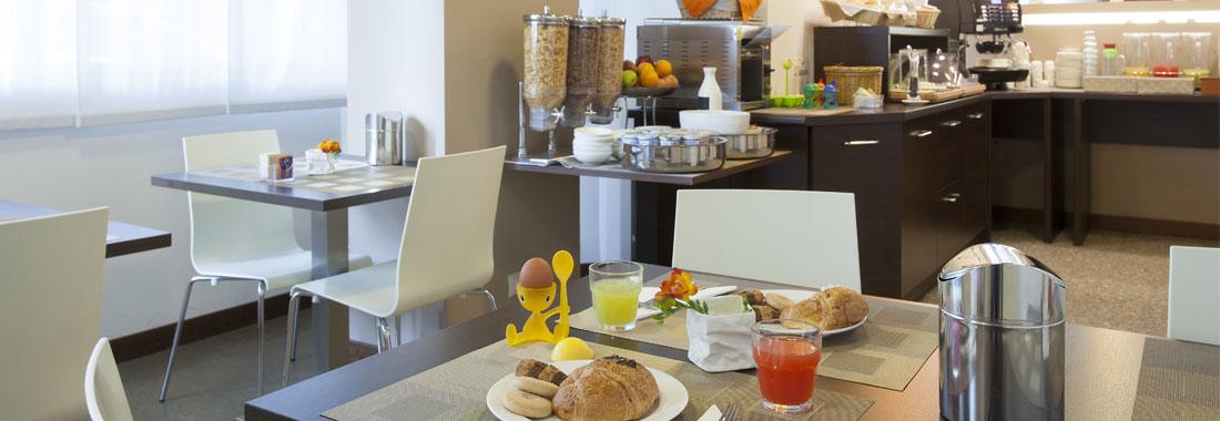 Colazione Hotel Oro Blu Milano