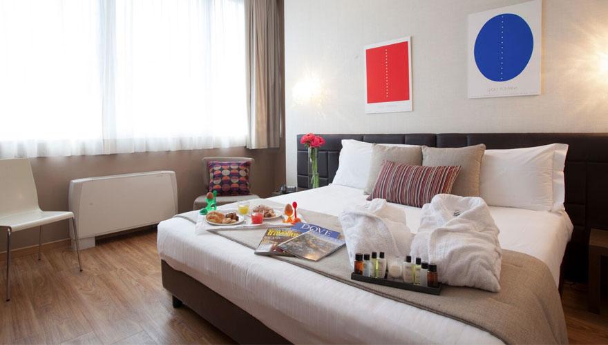 Camera Matrimoniale Superior - Hotel Oro Blu Milano